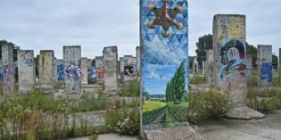 Geschichte mit Pinselstrich veredelt: Berliner Mauer zum Bemalen