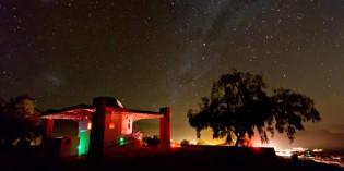 Große Sternen-Faszination über Chiles Anden