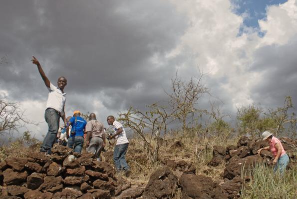 Vom Salaita Hill lässt sich ein guter Überblick über die einstigen Kriegsschauplätze gewinnen. (Foto: Muriuki Muriithi)