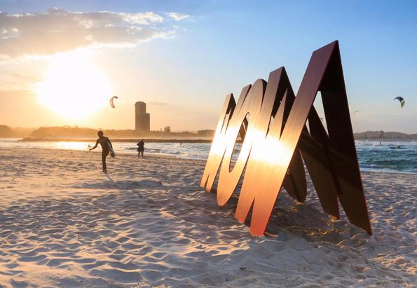 Der Wow-Effekt ist beim Swell Sculpture Festival im wahrsten Sinne des Wortes garantiert. (Foto: Pawell Papis)