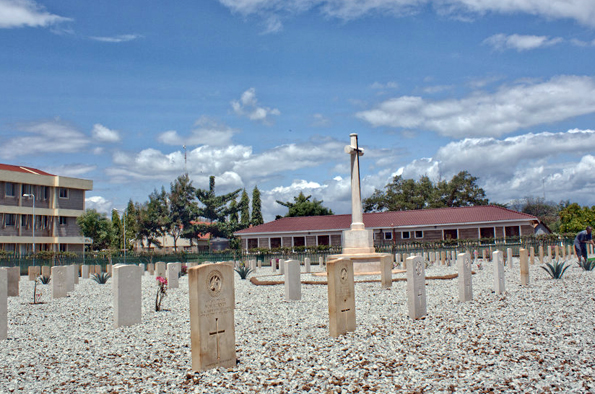 Viele Gefallene auf deutscher Seite wurden auf dem Taita Taveta War Cemetery beigesetzt. (Foto: Muriuki Muriithi)