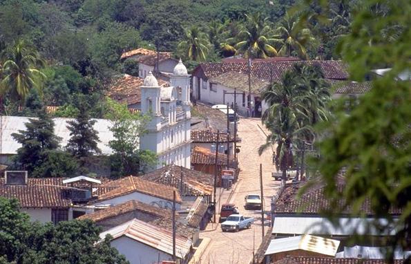 Verträumte Idylle im Dörfchen Copán im mittelamerikanischen Honduras.