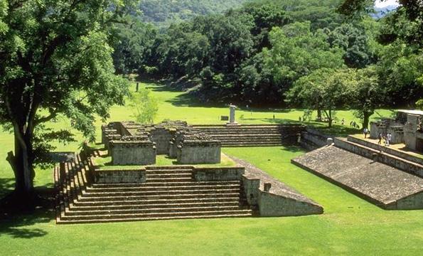 Seit fast dreieinhalb Jahrzehnten Teil des UNESCo-Weltkulturerbes: Die Maya-Ruinen in Cópan.
