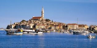 Die Altstadt als Freiluftgalerie: Grisia-Fest in Rovinj