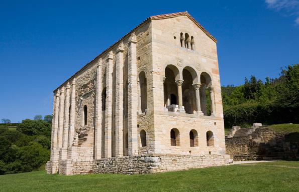 Kleinod in Oviedo: die Kirche Santa María del Naranco.
