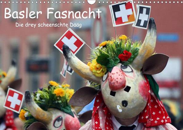 Ganz aktuell hat Karsten-Thilo Raab einen Kalender mit Motiven der Basler Fasnacht vorgelegt.