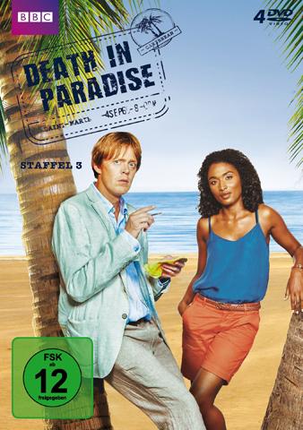 """Ab 12. September im Handel: Die DVD-Box zur dritten Staffel von """"Death in Paradise"""""""