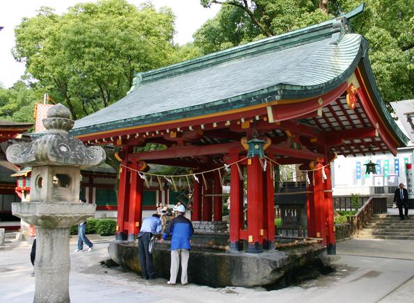 Prächtige angelegt sind die Tempel des Dazaifu Tenmangu in Fukuoka. (Foto: Karsten-Thilo Raab)