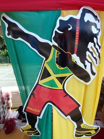 Auch beim Reggae-Marathon: Sprint-König Usian Bolt lässt grüßen.