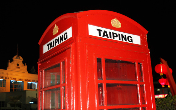 Lange stand Taiping unter britischem Einfluss. Noch heute erinnert nicht nur der Linksverkehr an diese Zeiten. (Foto: Karsten-Thilo Raab)