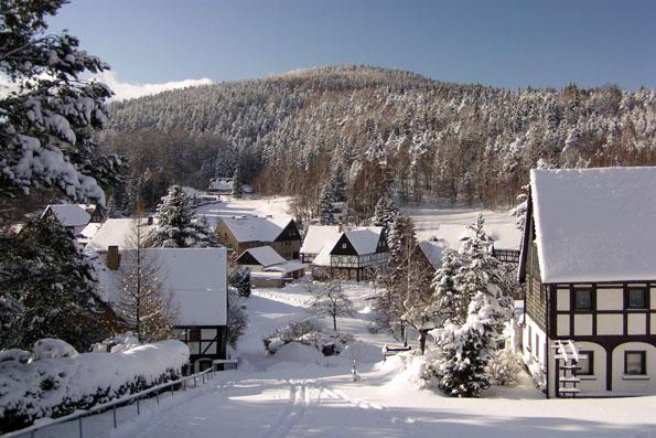 Jonsdorf, Blick ins Pochebachtal