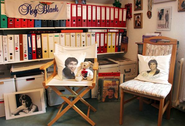 Im Dortmunder Roy Black Archiv Museum ist der verstorbene Schlagerstar noch immer allgegenwärtig. (Foto Karsten-Thilo Raab)