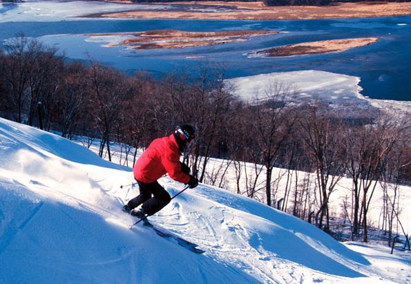 Dass sich am Mississippi hervorragend Skifahren lässt, ist außerhalb der USA nur wenigen bekannt.