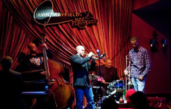 Musikalisches Aushängeschild von New Orleans: Irving Mayfield. (Foto Werner Krug)