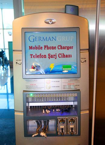 Schnell und günstig: Der Mobile Phone Charger. (Foto: Karsten-Thilo Raab)