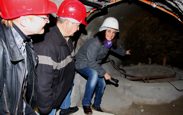 Seit zehn Jahren steht das Oppenheimer Kellerlabyrinth mittlerweile besuchern im Rahmen von Führungen offen.