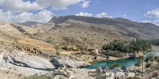 Den Sommer verlängern im Sultanat Oman