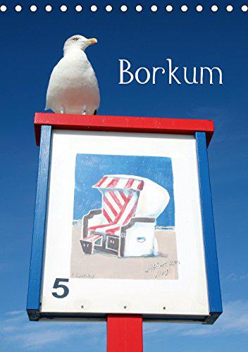 Das besondere Flair der Nordseeinsel Borkum zeigen die faszinierenden Bilder dieses Kalenders