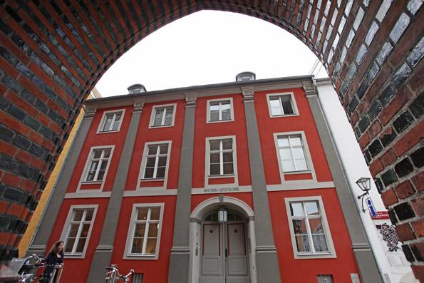Stolz der Hansestadt: Das Welterbehaus in Stralsund. (Foto Ossenrexer)