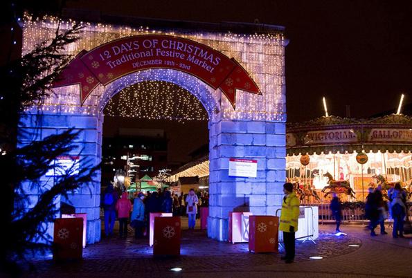 Hat längst einen festen Platz im Veranstaltungskalender der irischen Hauptstadt: der Dublin Dockland Christmas Market.