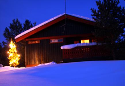 Romantischer und stimmungsvoller als in Gålå geht Hüttenurlaub wohl kaum. (Foto: Karsten-Thilo Raab)