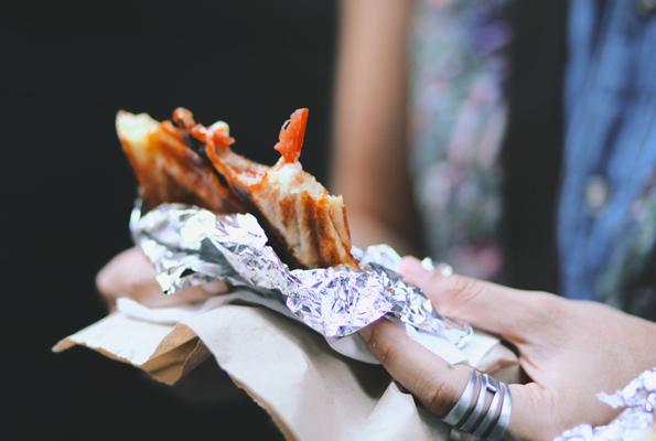Nach dem Kurztrip durch die Lüfte schmeckt das Jafflechute gleich noch besser. (Foto WeHeart.co.uk)
