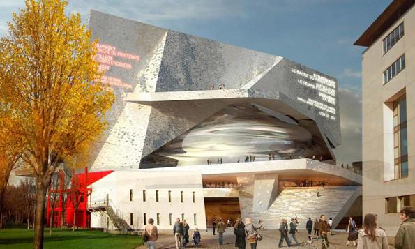 Die Philharmonie, der neue Pariser Musentempel, wird am 14. Januar seiner Bestimmung übergeben. (Foto: Atelier Jean Nouvel)