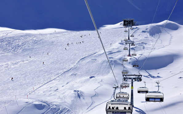 Klein, aber fein: Das Liechtensteiner Skigebier in Malbun.
