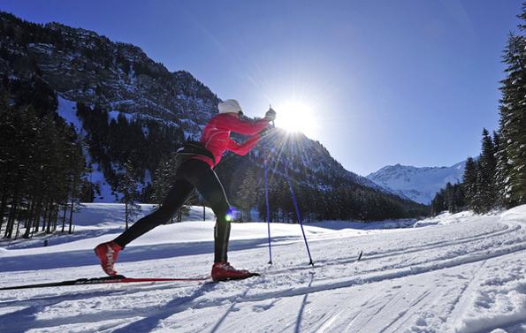 In Steg werden die Langlaufwettbewerbe über die Bühne gehen.