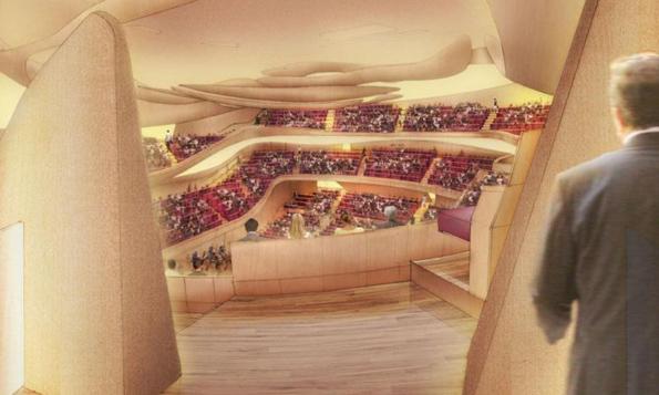 Musikgenuss in Perfektion verspricht die neue Pariser Philharmonie. (Foto Didier Ghislan)