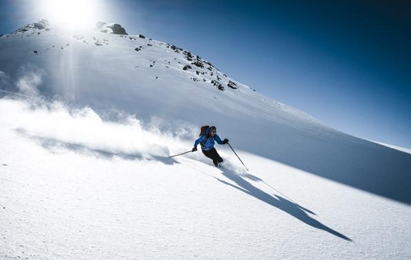 In den Skigebieten rund um Sterzing herrscht alles andere ans drangvolle Enge. (Foto Michael Tschöll)