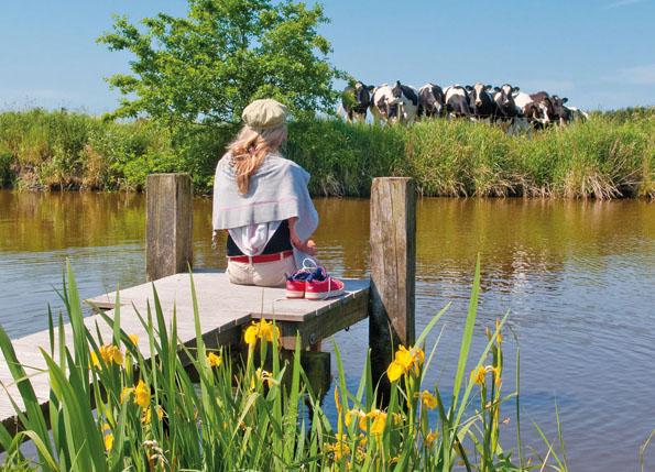 Im südlichen Ostfriesland kann man den Alltagsstress schnell hinter sich lassen.