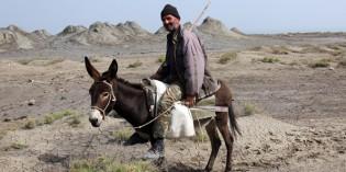 Kalt brodelndes Aserbaidschan –Schlammvulkane, Steinzeit-Künstler und Felsenzeichnungen