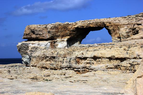 Die markanteste Landmarke auf Gozo: das Azur Window. (Foto Karsten-Thilo Raab)