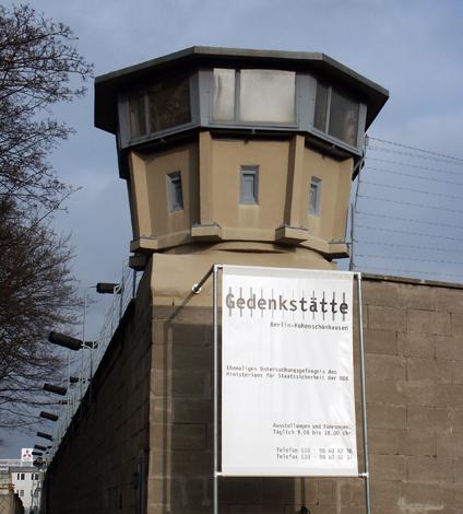Hohenschönhausen - einst Gefängnis, heute Gedenkstätte. (Foto Karsten-Thilo Raab)