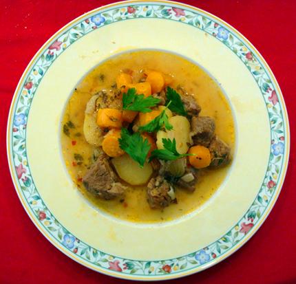 Ideales Wintergeriocht: ein Irish Stew. (Foto Wikipedia)