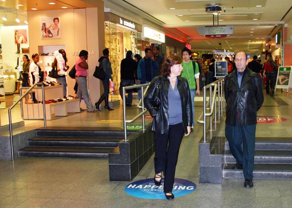Wie hier im Centre Eaton lässt sich überall in Montéal auch im tiefsten Winter angenehm shoppen. (Foto: Karsten-Thilo Raab)