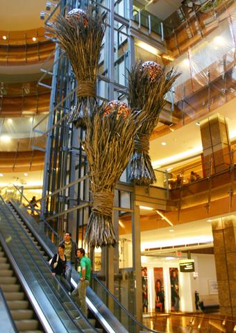 Im Centre Eaton lässt sich sowohl über als auch unter der Erde shoppen. (Foto: Karsten-Thilo Raab)