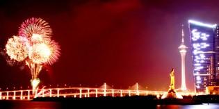 Jubel am Perfluss: Macau feiert Handover-Jubiläum