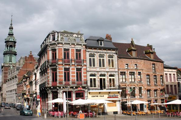 Das belgische Mons rückt 2015 als Europas Kulturhauptstadt in den internationalen Fokus. (Foto Karsten-Thilo Raab)