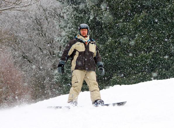 Auch abseites der Sauna-Gondel lässt das Wintersportgebiet Yllästunturi kaum Wünsche Skifahrer und Snowboarder offen. (Foto: Karsten-Thilo Raab)