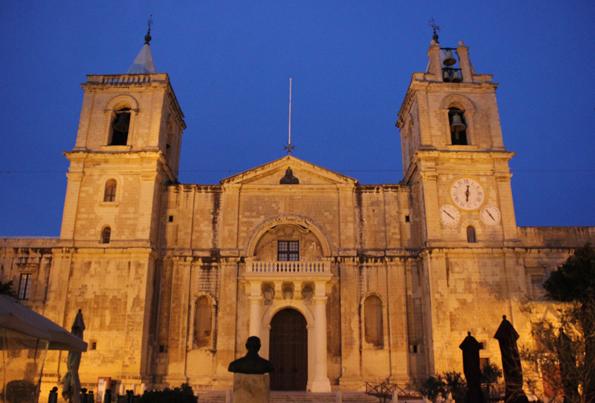 Die St. John's Co-Cathedral ist der bedeutendste Kirchenbau Maltas. (Foto Karsten-Thilo Raab)