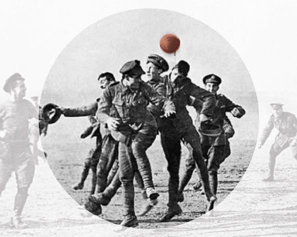 In Gedenken an den Weihnachtsfrieden von 1914 steigt in Mesen ein besonderes Fußballspiel.