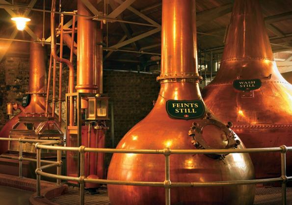 Entlang des Whiskey Trails lässt sich in Irland manche geschmackliche Entdeckung feiern.