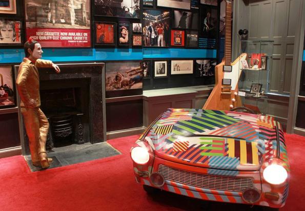 Dublins Museumslandschaft ist faszinierend, spannend und lehrreich und bietet zahlreiche Hingucker wie hier das Wachsfigurenmuseum.