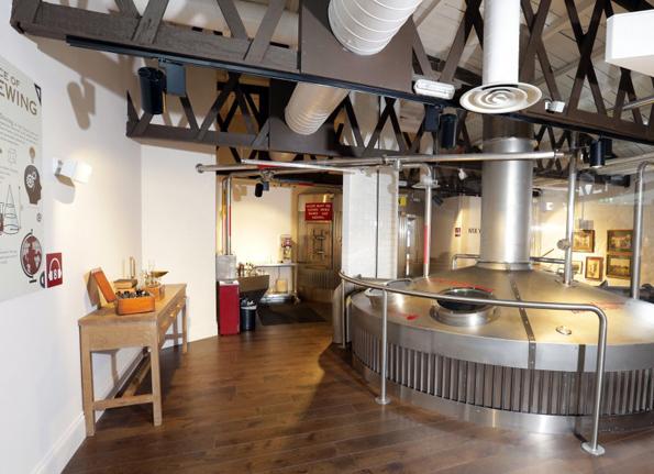 Während der Tour gibt es natürlich auch einen Einblick in die verschiedenen Stufen der Bierherstellung.