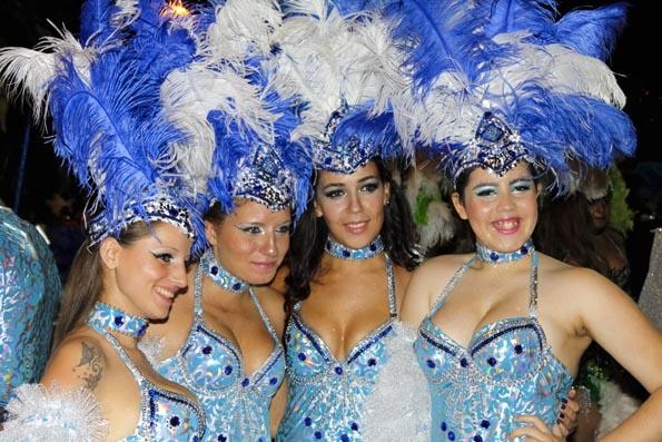 Traditioneller Höhepunkt des Karnevals auf Madeira ist der Umzug durch Funchal. (Foto Udo Haafke)