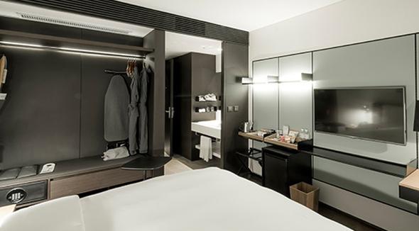Genau 319 Zimmer hält das neu eröffnete GLAD Hotel Yeouido in Seoul vor. (Foto Design Hotels)