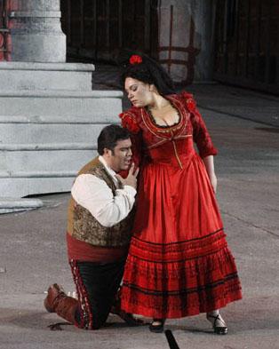 Beliebter Klassiker in der letzten Spielzeit: Carmen. (Foto Ennevi)