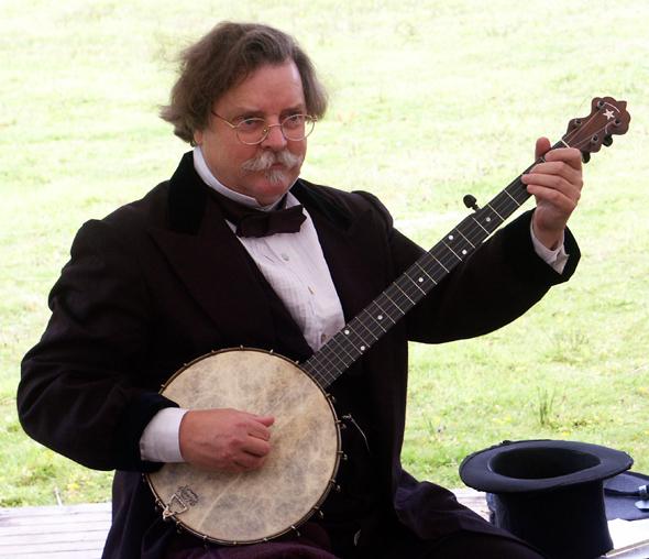 Wie die Blue Ridge Mountains gehört Banjo-Musik unverrückbar zu North Carolina. (Foto Karsten-Thilo Raab)